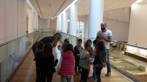 Επίσκεψη στο αρχαιολογικο μουσειο